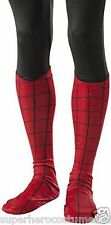 The Amazing Spider-Man 2 Adult Deluxe Boot Covers Marvel Comics Red Rubies 35530