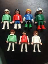 Playmobil Lot 22 Pieces People Figures Hair Hats Accessories 1974 Geobra Vintage