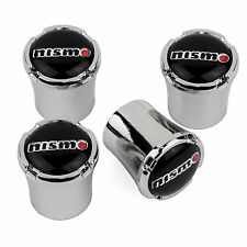 Nissan NISMO Logo Tire Valve Stem Caps 350Z 370Z Juke GT-R - Made in USA
