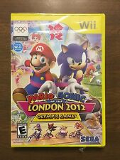 Mario & Sonic at the London 2012 Olympic Games (Wii)  Rare! Mint!  New!  Sealed!
