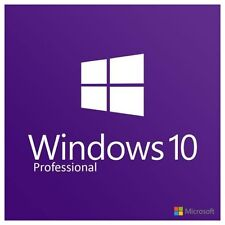 Microsoft Windows 10 Professional 32/64bit Download With License Key