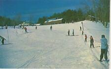 Ski Poster Rope Tow and Slope East Madison NH