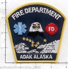 Alaska - Adak AK Fire Dept Patch
