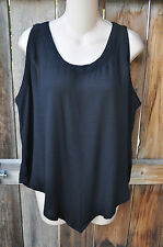 """ART TO WEAR MISSION CANYON 75 SHORT TANK IN CLASSIC SOLID BLACK, OS, 42""""B!"""