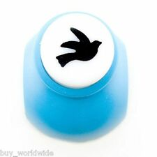 Peace Dove Pigeon Bird Paper Edge Craft Punch Stamp Die Cut Cutter Sealed 1cm