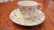 """COLLECTIBLE DEMITASSE DIAMOND CHINA """"MADE IN OCCUPIED JAPAN"""" TEA CUP AND SAUCER"""