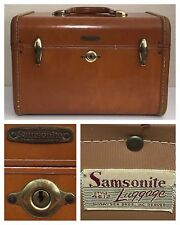 VTG Shwayder Bros Samsonite Luggage 4612 Train Case Makeup Case Steam Trunk