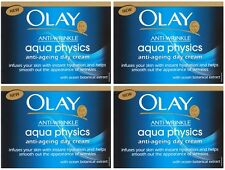 Olay Anti-Wrinkle Aqua Physics Day Cream (4 x 50ml) Anti Wrinkle Anti Ageing