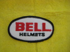 "Vintage Bell Helmets Racing Equipment Patch 3 1/2 "" X 2"""