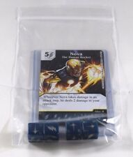 Marvel Dice Masters Avengers VS. X-Men AVX * NOVA RARE Uncommon Set CUR + 4 Dice
