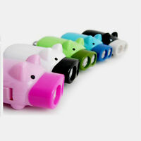 Hand-Pressing Power 2 LED Cute Pig Shaped Flashlight Dynamo Torch Lamp