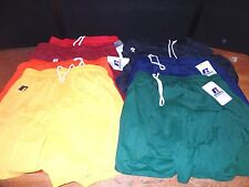 Lot of 7 NWT Women's Russell Athletic Running Shorts Size Large Assorted Colors