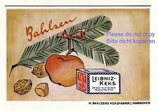 Biscuit factory Bahlsen Hannover Germany german ad 1943 !!! Leibniz x-mas  xc +
