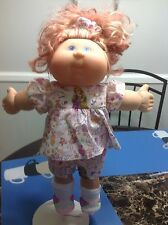 CABBAGE PATCH KID 2004 PLAY ALONG GREEN EYED RED BLONDE STREAKED HAIR