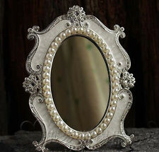 Gorgeous Vintage Antique Baroque Decorative Art  Deco Vanity Stand Mirror