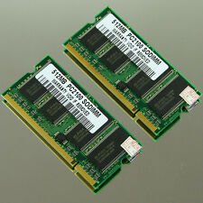 NEW 1GB (2X 512MB) PC2100 DDR266 SODIMM 200PIN MEMORY LAPTOP RAM 266MHZ Notebook