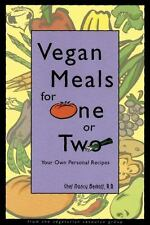 Vegan Meals for One or Two: Your Own Personal Recipes PB Cookbook