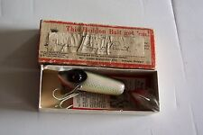 HEDDON VERY RARE GIANT RIVER RUNT NEW IN ORGINAL BOX AND PAPER CATALOG EX
