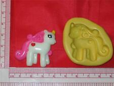 My Little Pony 2D Silicone Push Mold A758 Chocolate Fondant Gum Paste Cake Pop