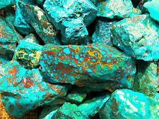 2000 Carat Lots of  Chrysocolla & Turquoise Rough - Plus a FREE Faceted Gemstone