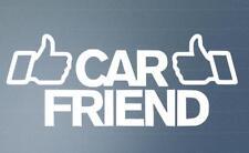 Car Friend Funny Car Window Bumper 4x4 JDM EURO VW DUB Vinyl Decal Sticker