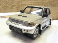 Cararama Mitsubishi Pajero Evolution- 3 Door Silver / Grey -1/72 Scale New Boxed