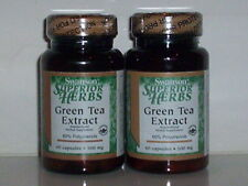 GREEN TEA EXTRACT 500MG DISEASE IMMUNITY DEFENSE SUPPLEMENT 120 CAPS 2 BOTTLES