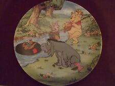 Bradford Exchange Winnie the Pooh Going Fishing Collector Plate