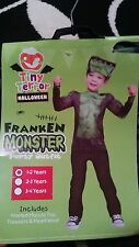Franken monster party outfit 1-2yrs