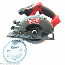 "New M18 Milwaukee FUEL 2730-20 Cordless 6 1/2"" Circular Saw 18 Volt 18V"