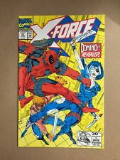 X-FORCE #11 1992, MARVEL) 1ST APPEARANCE OF DOMINO EARLY DEADPOOL FIRST PRINT