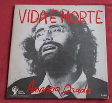 AMANCIO PRADA LP VIDA E MORTE  DISQUES ALVARES