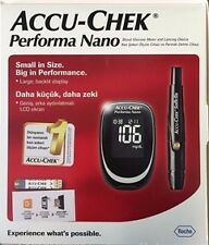 AccuChek Performa Nano Meter for accuracy Testing with Pen(ONLY METER NO STRIPS)