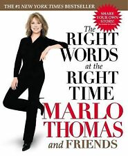 The Right Words at the Right Time ( Thomas, Marlo ) Used - VeryGood