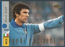 UPPER DECK LEGGENDA AZZURRA-ITALY-1998- #08-GRANDI CAPITANI-DINO ZOFF