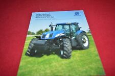 New Holland T6010 T6020 T6030 T6050 T60 Tractor Balers Dealer's Brochure YABE12