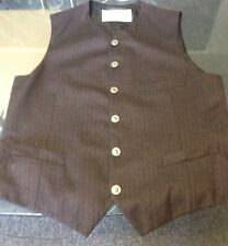 GIANNI VERSACE VEST WITH METAL MEDUSA HEAD BUTTONS MADE IN ITALY SIZE 52
