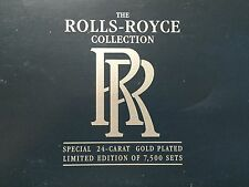 Lledo la Rolls-Royce COLLECTION EDIZIONE LIMITATA 24 Carati Placcato Oro Set 3 AUTO