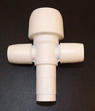 5 x HEP2o 2 PORT MANIFOLD SOCKET & CLOSED SPIGOT 22mm x 10mm HX92/22W VAT INC