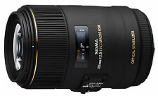 Sigma 105mm F2.8 ex dg os hsm macro pour canon eos adapter (uk stock) bnib