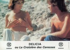 SEXY BETTY VERGES DELICIA OU LA CROISIERE DES CARESSES 1977 LOBBY CARD #2