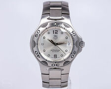 TAG Heuer Pre-owned Stainless Steel Kirium Quartz Ref. WL111E! Silver Dial!