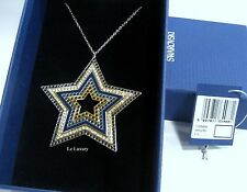 Swarovski Sultan Star Necklace, Crystal Authentic MIB - 1165488