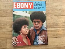 EBONY MARCH 1970 CLARENCE WILLIAMS III MOD SQUAD ISAAC HAYES MALCOLM X COLLEGE