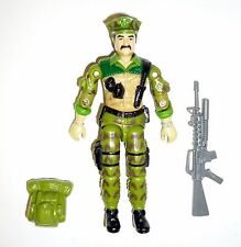 GI JOE LEATHERNECK Vintage Action Figure COMPLETE 3 3/4 C8+ v1 1986