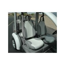 FORD THINK NEIGHBOR CAR SEAT COVERS SET - GREY AND WHITE - 4 PASS