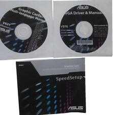 original Asus Treiber CD DVD V976 HD6670 driver NEW manual Grafikkarten NEU