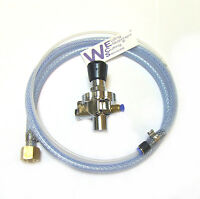 "Disposable Gas Regulator With Mig / Tig 3/8"" BSP Adaptor"