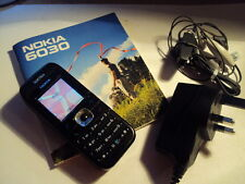 ORIGINAL  MADE IN HUNGARY NOKIA 6030  UNLOCKED+CHARGER +MANUAL+HEADPHONES