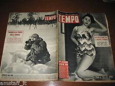 RIVISTA TEMPO 1951/7=LILIANA CARDINALE=CACCIA RENNE=BRUNELLA BOVO=PATELLANI=